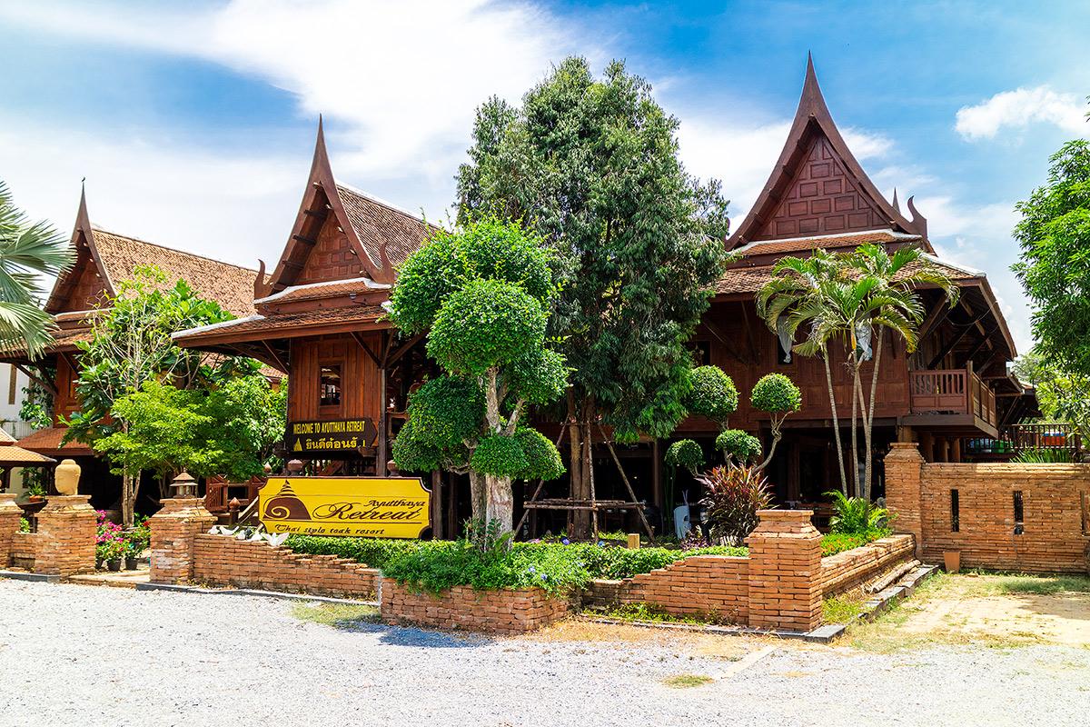 อยุธยา รีทรีต Ayutthaya Retreat  อยุธยา รีทรีต Ayutthaya Retreat โรงแรมทรงไทย ตามรอยละครดัง IMG 3585