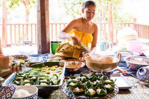 เรียนการทำอาหารไทย อยุธยา รีทรีต Ayutthaya Retreat  อยุธยา รีทรีต Ayutthaya Retreat โรงแรมทรงไทย ตามรอยละครดัง IMG 3645 300x200