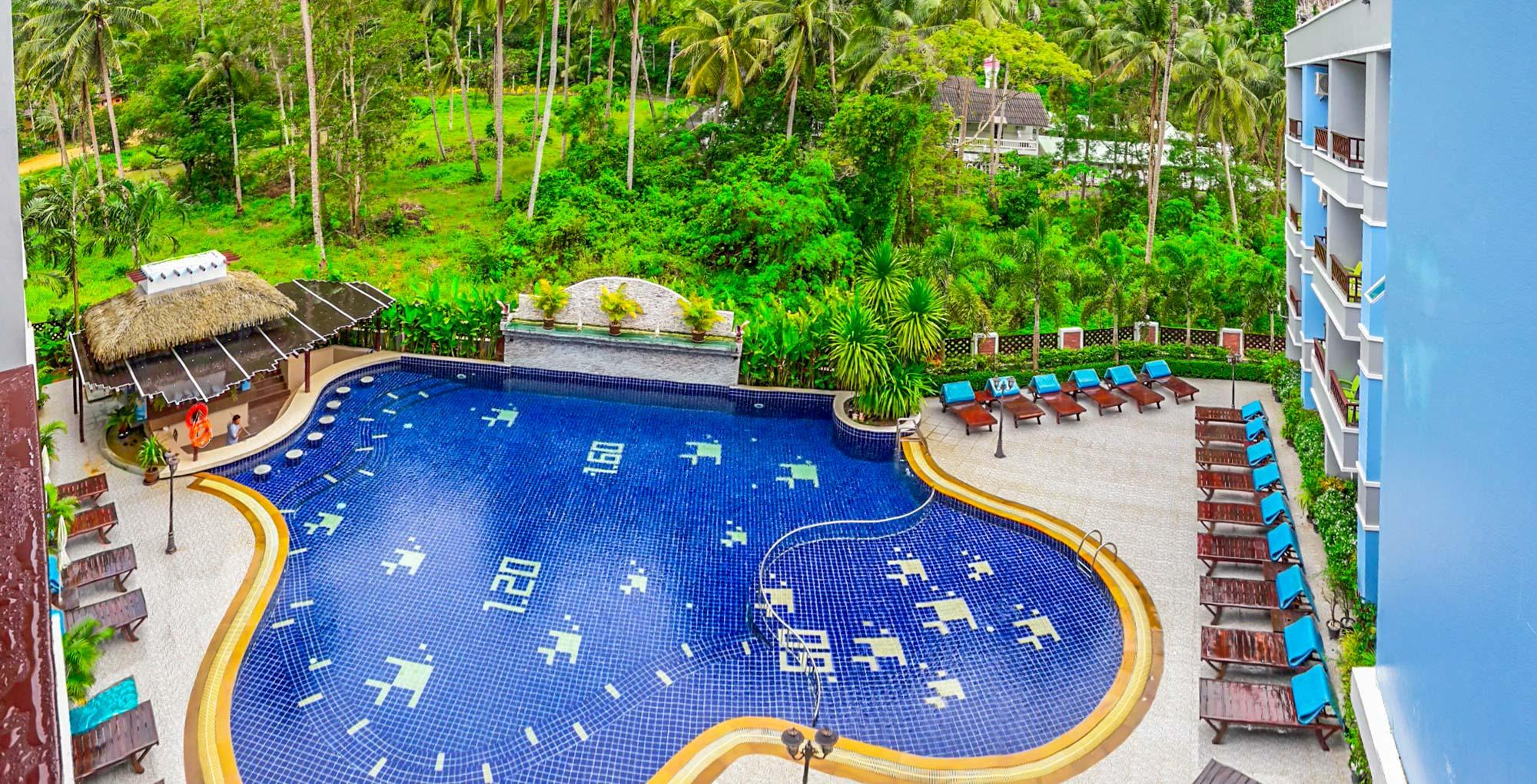 Aonang Silver Orchid Resort Halal Hotel Krabi  Aonang Silver Orchid Resort  อ่าวนาง ซิลเวอร์ ออคิด รีสอร์ท 20160919 155528