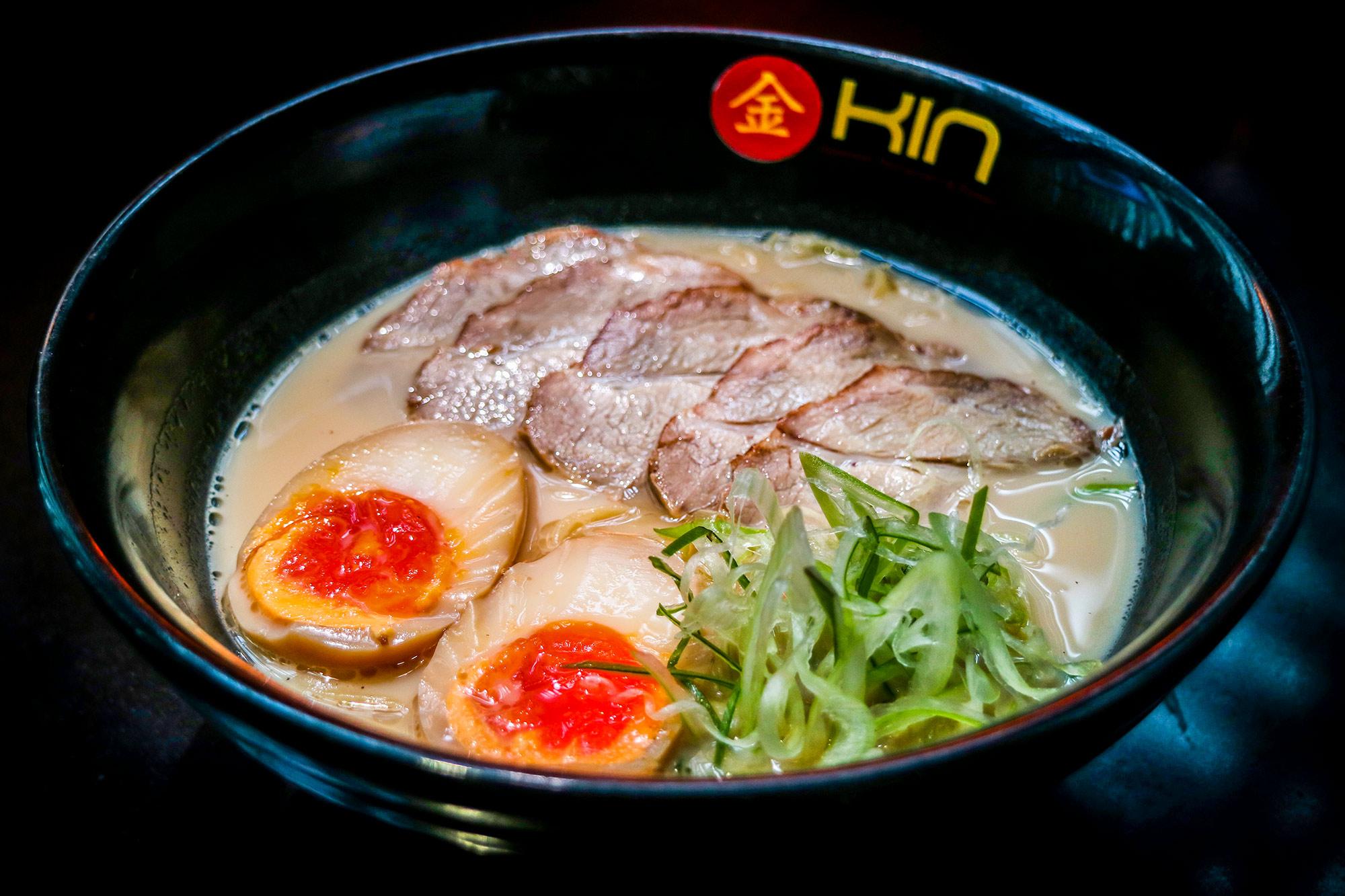 ราเมงหมูชาชู Chasyu Ramen  Kin Japanese Restaurant & Ramen ท่าอากาศยานสุวรรณภูมิ IMG 1405