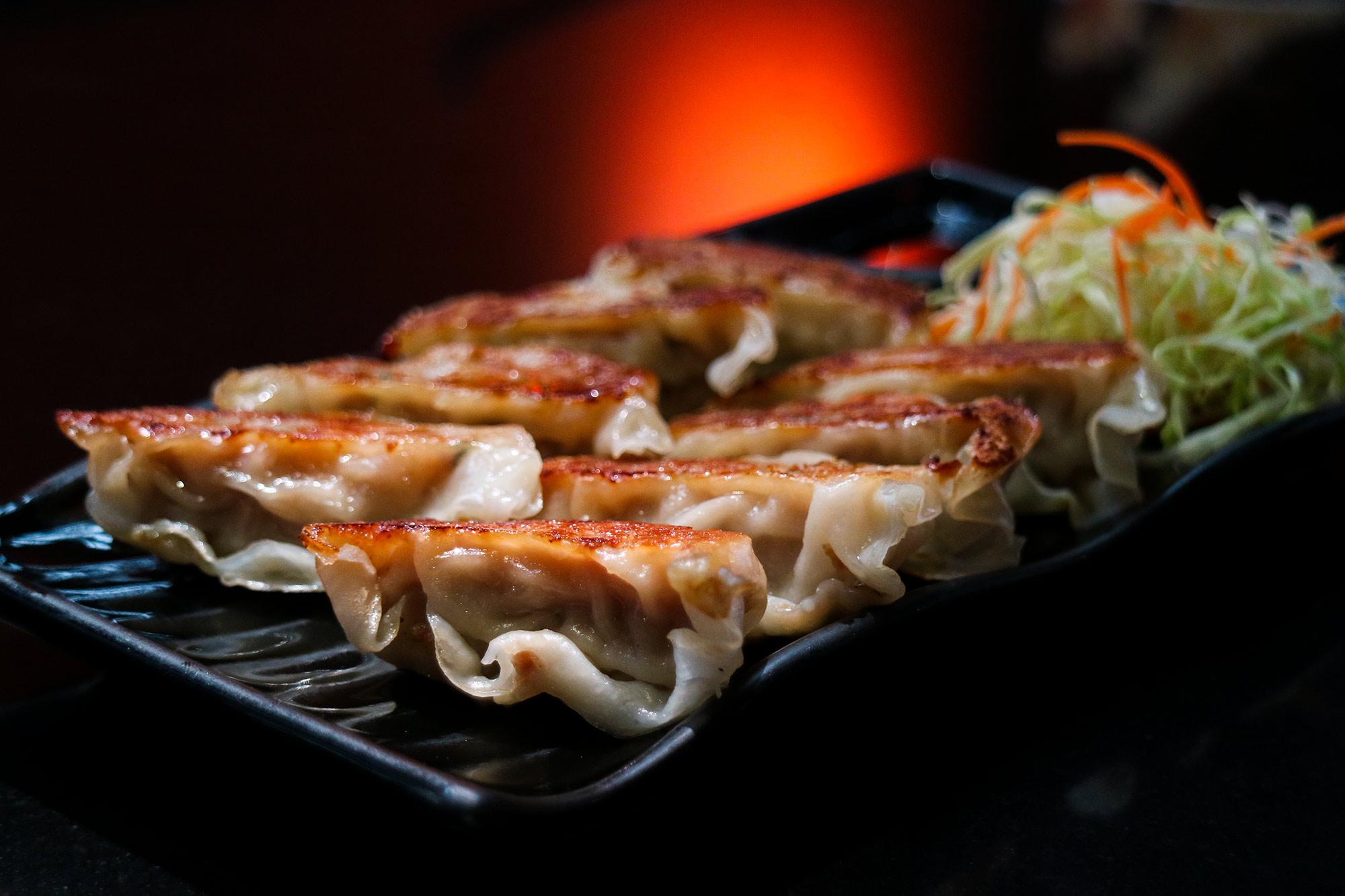 เกี๊ยวซ่า  Kin Japanese Restaurant & Ramen ท่าอากาศยานสุวรรณภูมิ IMG 1420