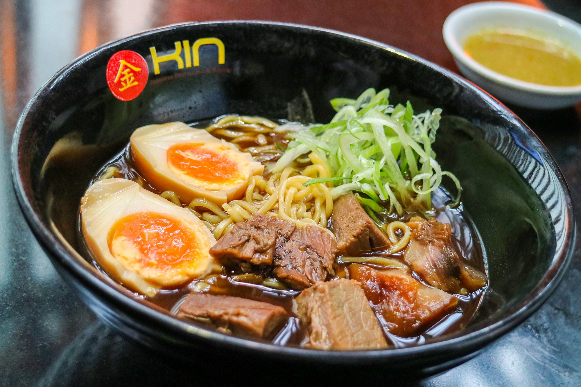 ราเม็งเนื้อน่องลายเอ็นแก้ว  Kin Japanese Restaurant & Ramen ท่าอากาศยานสุวรรณภูมิ IMG 1424