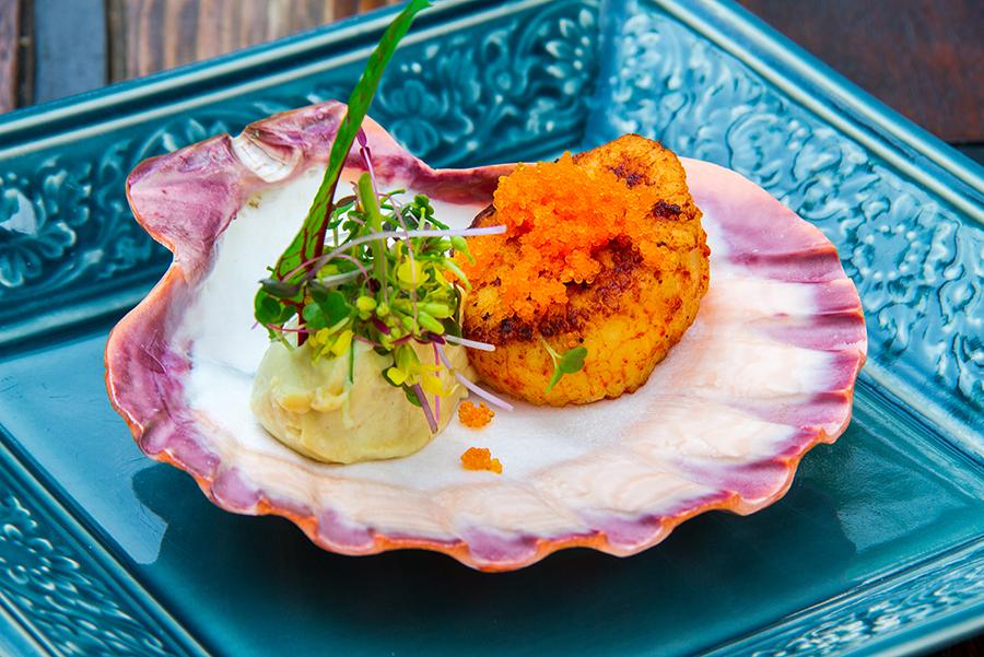 Gunpowder Scallop  indus อินดัส ร้านอาหารอินเดีย สุขุมวิท 26 IMG 3564