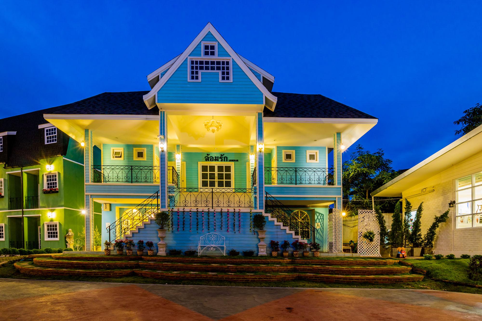 อาคารล้อมรัก ณ บ้านแม่ รีสอร์ท ลำปาง  ณ บ้านแม่ รีสอร์ท Nabaanmae resort ลำปาง งามสไตล์ยุโรป IMG 3876