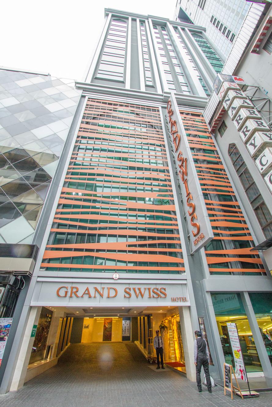 โรงแรมแกรนด์สวิส สุขุมวิท 11  180 Sky Lounge โรงแรมแกรนด์สวิส สุขุมวิท 11 IMG 7730