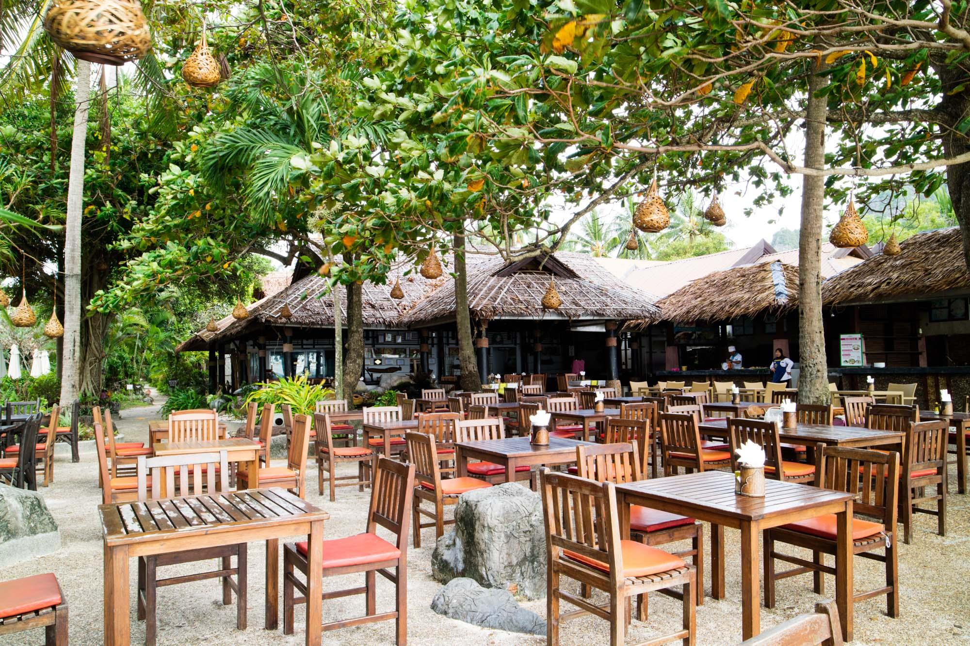 ครัววิลเลจ Krua Village Restaurant  ไร่เลย์ วิลเลจ รีสอร์ท แอนด์ สปา Railay Village Resort กระบี่ IMG 9088