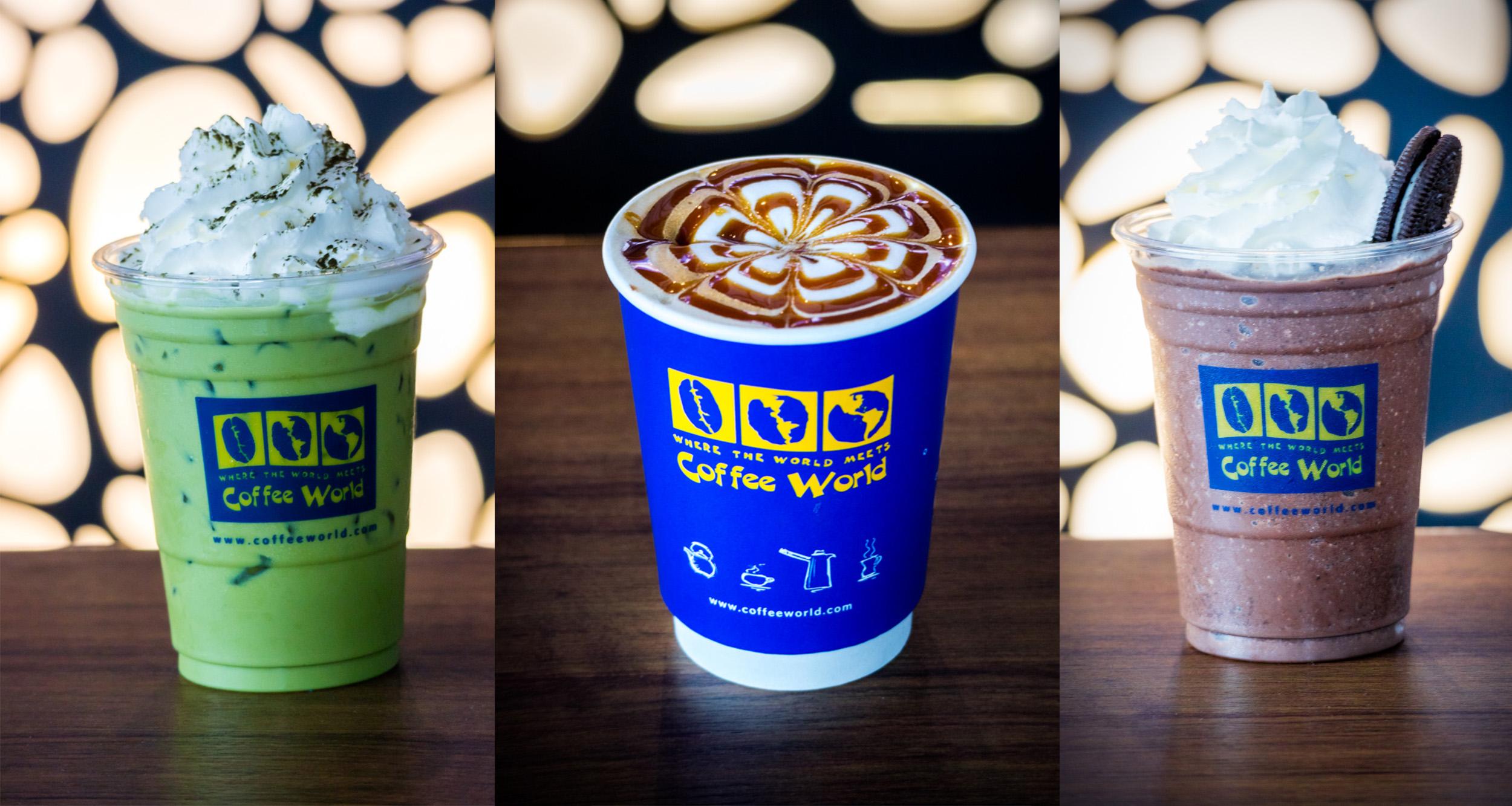 Coffee World  ร้านอาหารแนะนำ ในอาคารผู้โดยสารขาออกระหว่างประเทศ ท่าอากาศยานภูเก็ต Coffee World