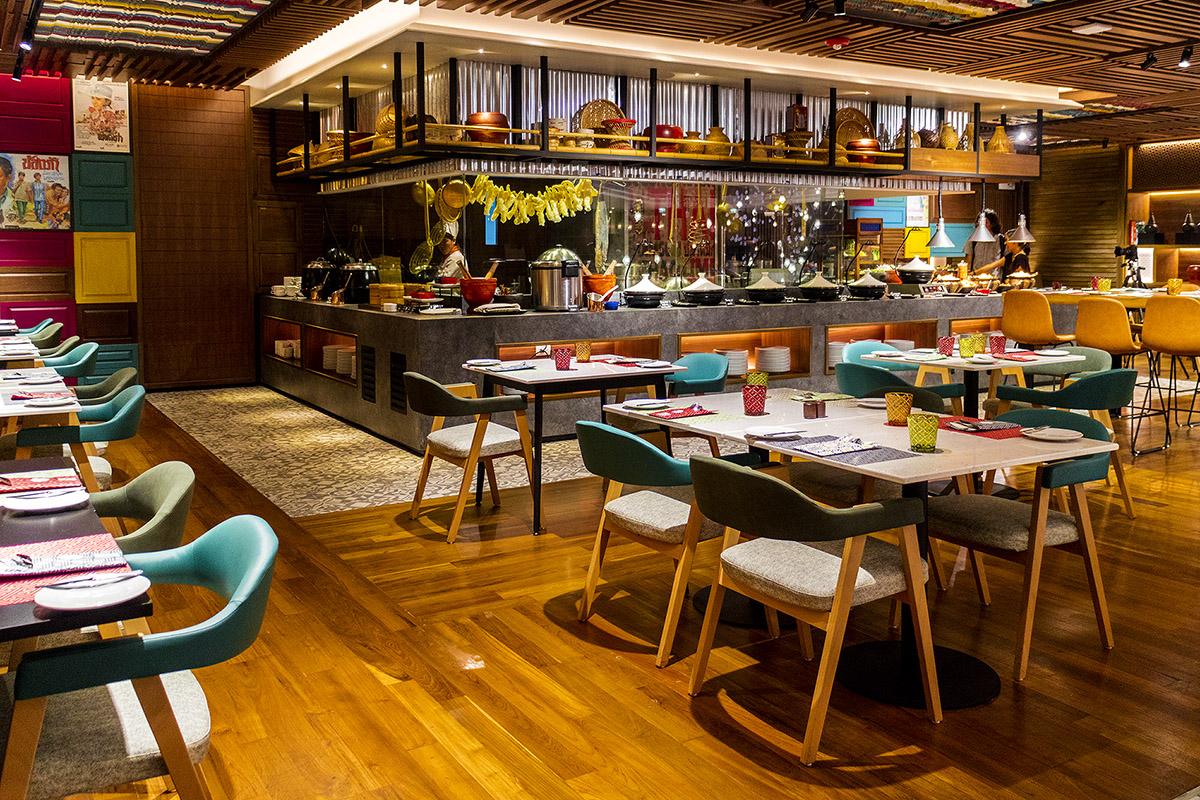 บุฟเฟ่ต์ ห้องอาหาร อมาญา ฟู้ด แกลเลอรี่ โรงแรม Amari Watergate Bangkok  อมาญา ฟู้ด แกลเลอรี่ โรงแรม Amari Watergate Bangkok IMG 7040