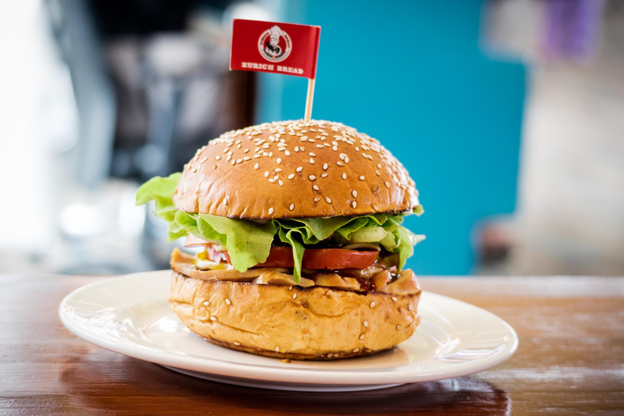 Cuban Ham Ciabatta  ร้านอาหารแนะนำ ในอาคารผู้โดยสารขาออกระหว่างประเทศ ท่าอากาศยานภูเก็ต IMG 8230