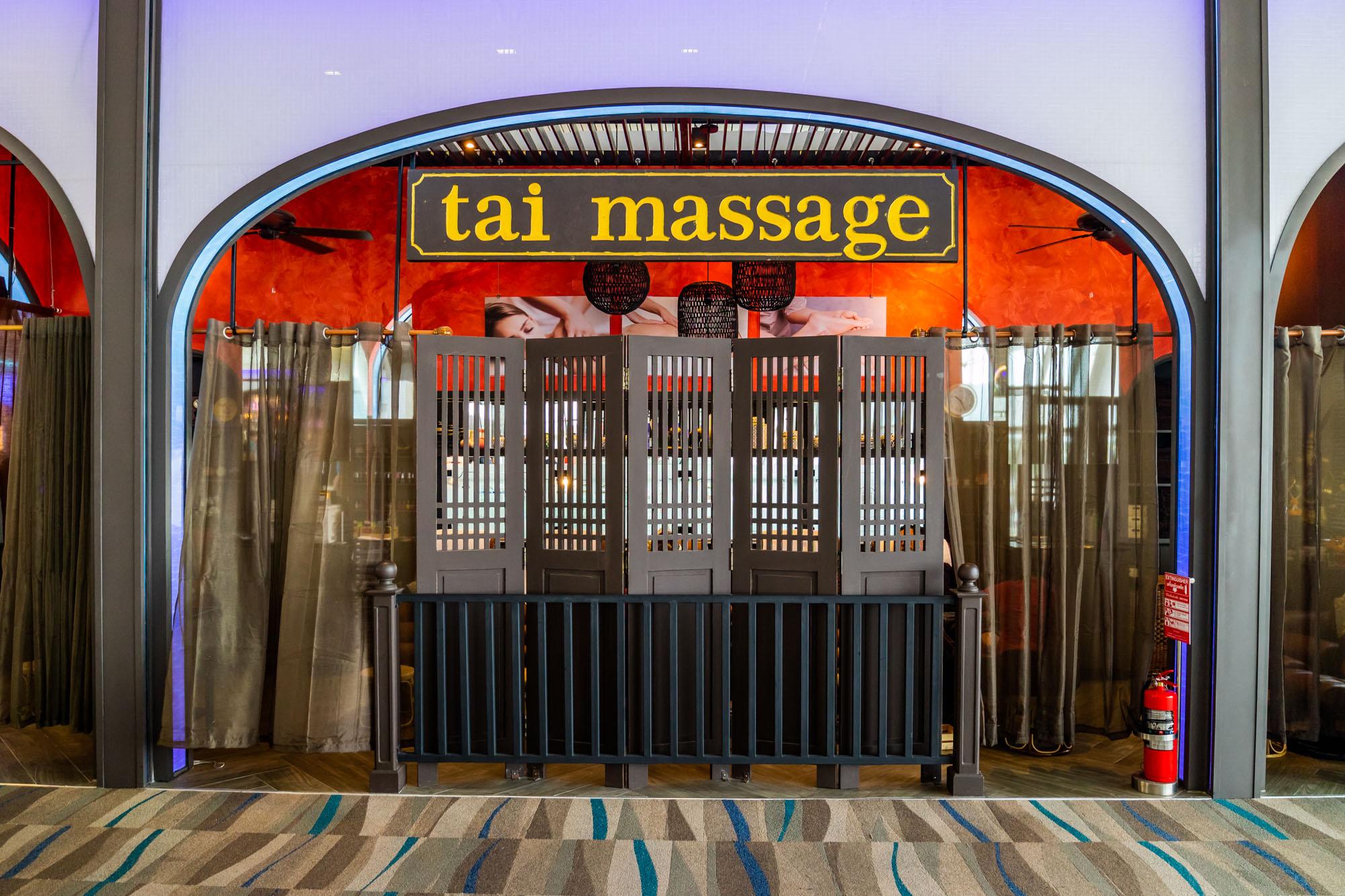 Tai Massage  ร้านอาหารแนะนำ ในอาคารผู้โดยสารขาออกระหว่างประเทศ ท่าอากาศยานภูเก็ต IMG 8256