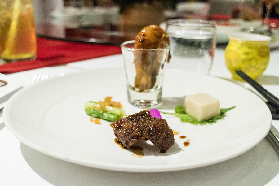 Cold Dish ออเดิร์ฟเซี่ยงไฮ้  ห้องอาหารไชน่าเทเบิ้ล ชวนลิ้มลองอาหารจีน โดยเชฟชื่อดังจากเซียงไฮ้ IMG 6294