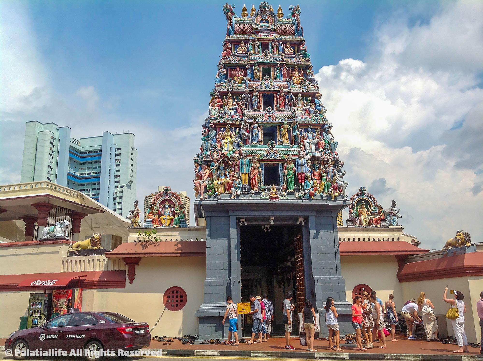 วัดแขกศรีมาริอัมมันต์ (Sri Mariamman Temple)  สิงคโปร์ เที่ยวเตร็ดเตร่ไปตาม 5 ย่านยอดฮิตที่ไม่ควรพลาด IMG 2964