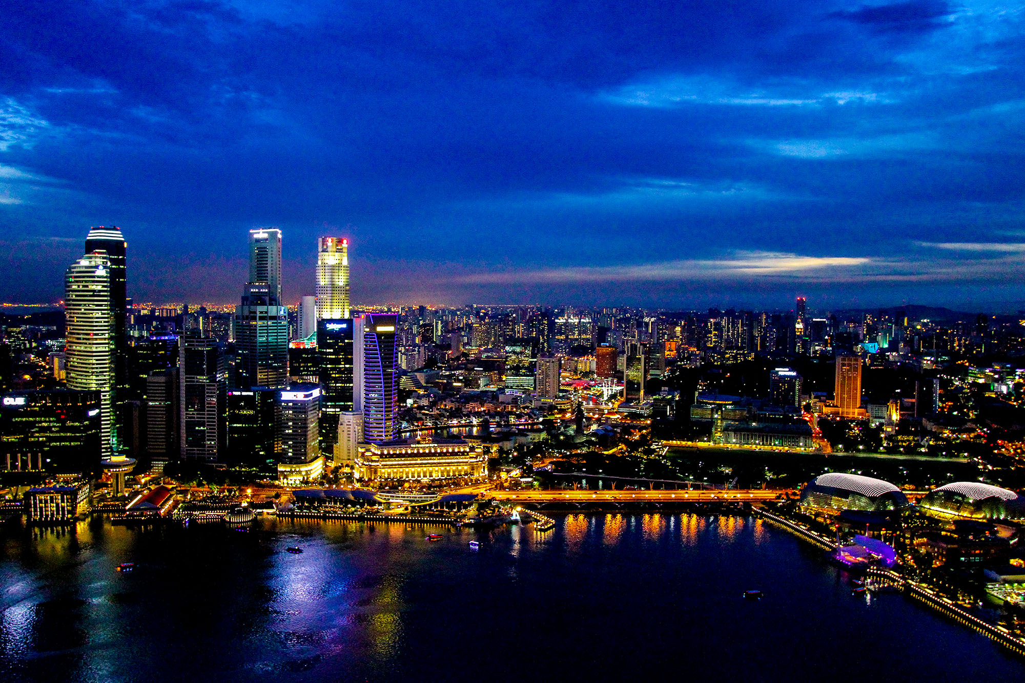 มาริน่า เบย์ สิงคโปร์  สิงคโปร์ เที่ยวเตร็ดเตร่ไปตาม 5 ย่านยอดฮิตที่ไม่ควรพลาด IMG 9708
