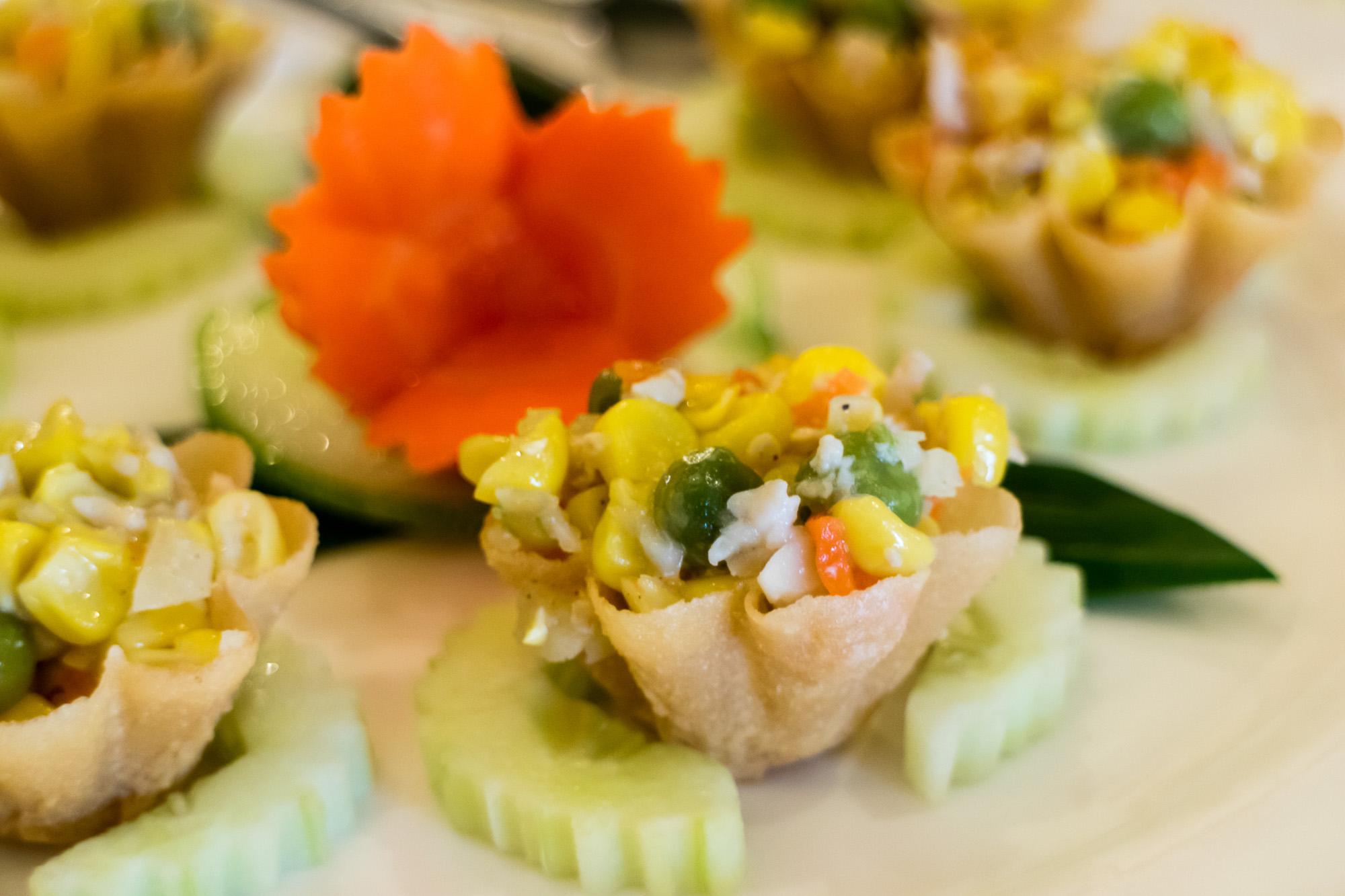 กระทงทอง นาจ Naj Exquisite Thai Cusine & Naj Thai Cooking School  นาจ Naj Exquisite Thai Cuisine ชวนลิ้มลองอาหารไทยสุดหรู ย่านสีลม IMG 4039