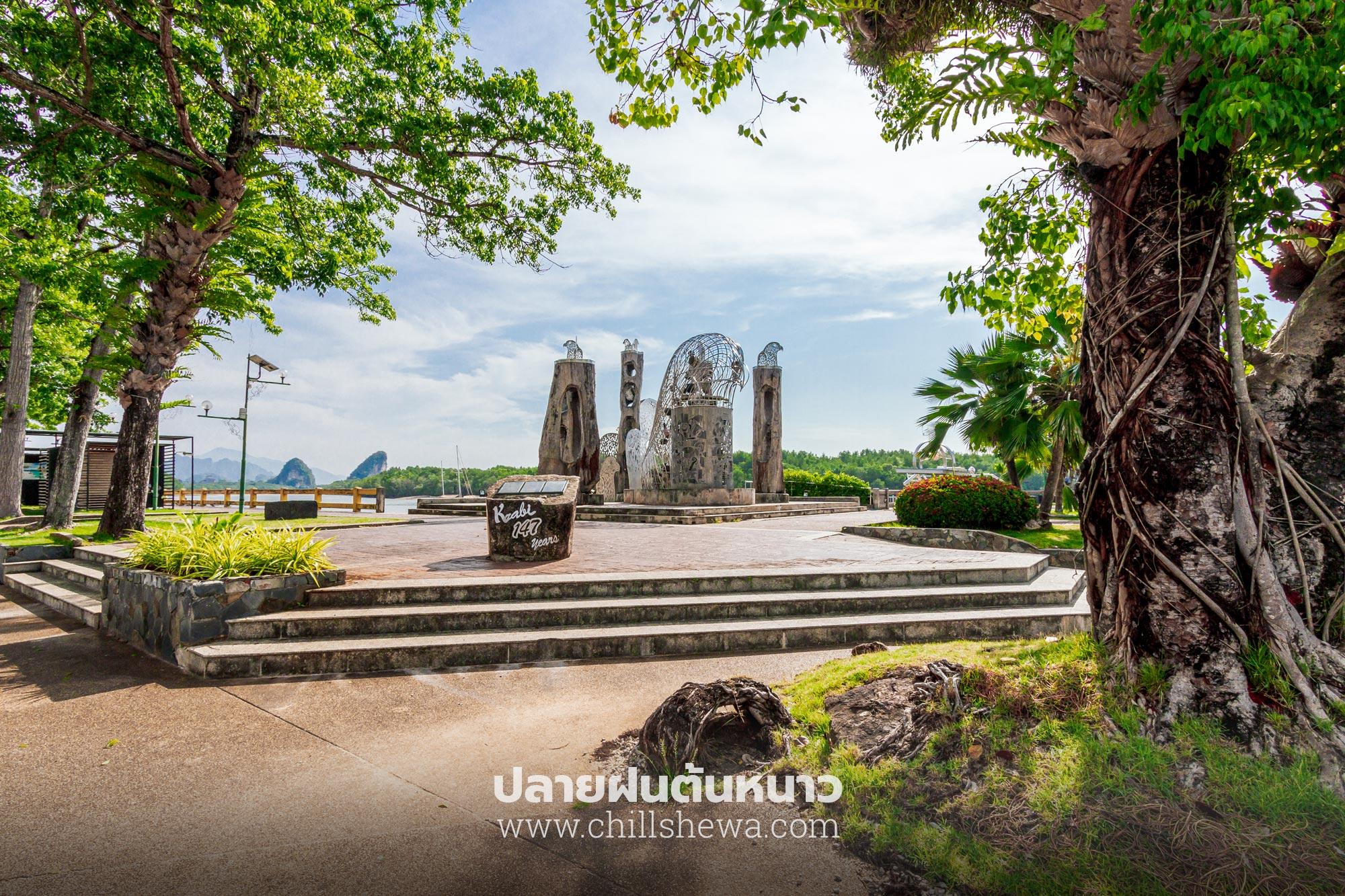 ประติมากรรมไม้มะหาด จังหวัดกระบี่ krabi front bay resort Krabi Front Bay Resort กระบี่ ฟร้อนท์ เบย์ รีสอร์ท Krabi Front Bay Resort 08