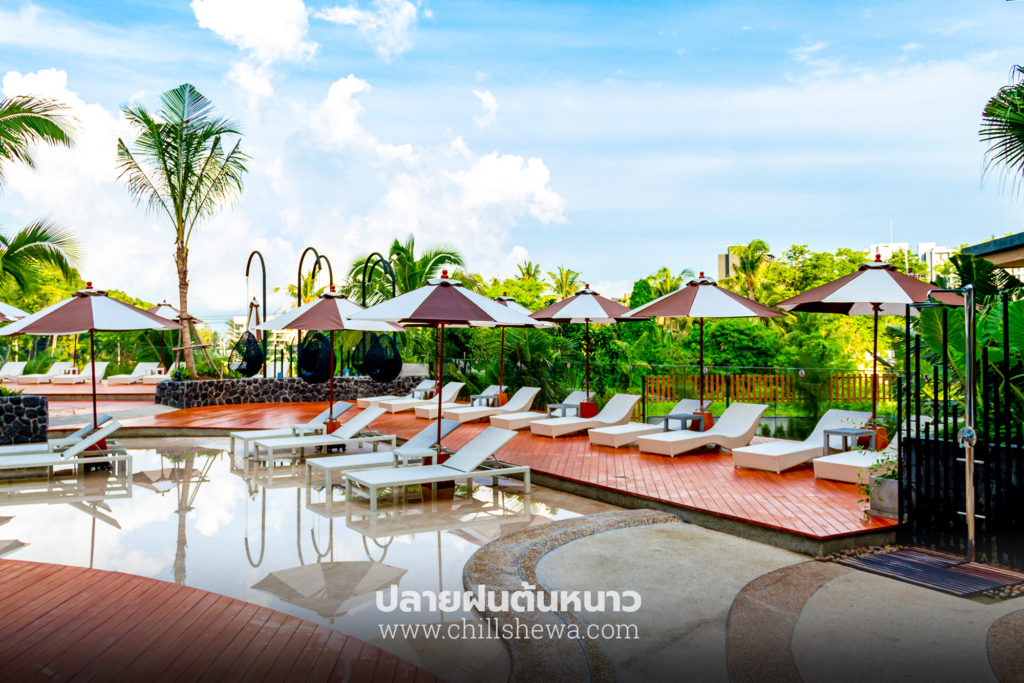 Swimming Pool Sea Seeker Krabi Resort Aonang sea seeker krabi resort SEA SEEKER KRABI RESORT โรงแรมสไตล์โมเดิร์น ในอ่าวนาง กระบี่ Sea Seeker Krabi 37